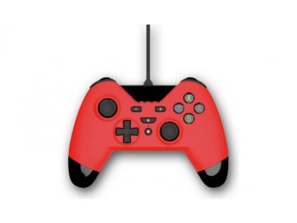 Gioteck WX4 Wired Controller - Red (PS4/PC)