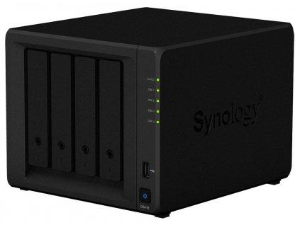 Synology DS418 4-Bay SATA, Realtek 4C 1,4 GHz, 2GB, 2xGbE LAN, 2xUSB 3.0