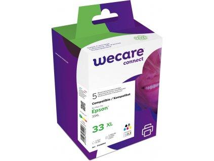 WECARE ink sada pro EPSON C13T33574011,CMYK
