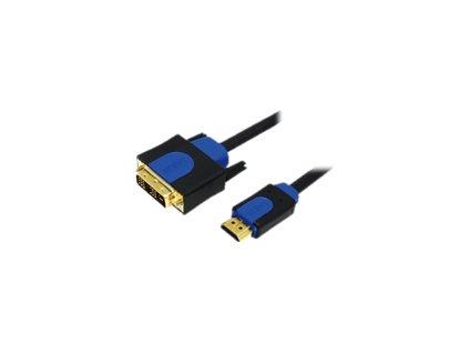 LOGILINK CHB3105 LOGILINK - Kabel HDMI-DVI, HQ, délka 5m