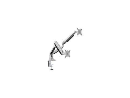LOGILINK BP0043 LOGILINK - Dual alumium monitor desk mount,13-27, max. 9 kg