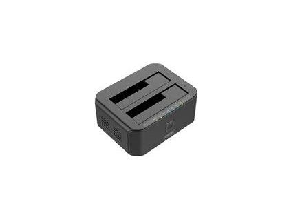 UNITEK Y-3032 Unitek Y-3032 dokovací stanice dual HDD USB 3.0, funkce klonování offline