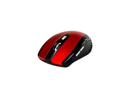 MEDIATECH MT1113R Media-Tech RATON PRO - Bezdrátová optická myš 1200 cpi, 5 tlačítek, červená