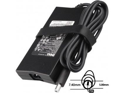 Napájecí adaptér 130W 19,5V, 7.4x5.0, originál DELL
