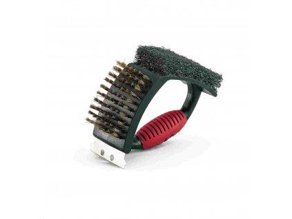 Landmann kartáč na čištění grilu Deluxe 02076 2076