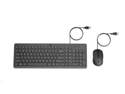 HP 150 Wired Mouse and Keyboard Combination - drátová klávesnice a myš
