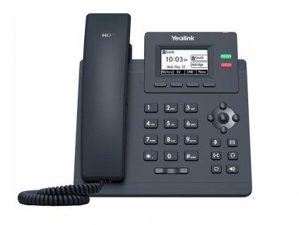 Yealink SIP-T31P SIP telefon, PoE, 2,3'' 132x64 podsv. LCD, 2 x SIP úč., 100M Eth