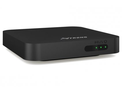 STRONG android box SRT 401 LEAP-S1/ 4K Ultra HD/ HDR10/ H.265/HEVC/ NETFLIX/ HDMI/ USB/ LAN/ Wi-Fi/ Android 10