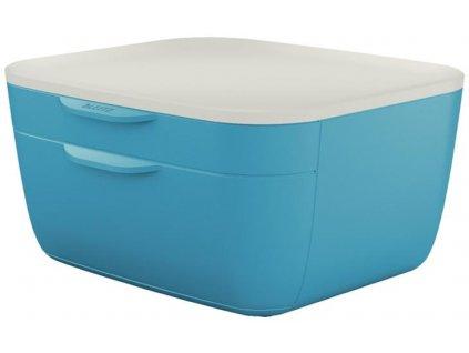 Leitz Zásuvkový box Leitz COSY klidná modrá 159886