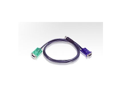 ATEN integrovaný kabel 2L-5202U pro KVM USB 1.8 M