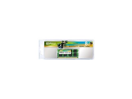 SILICON POWER DDR3 8GB 1600MHz CL11 SO-DIMM 1.35V Low Voltage