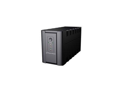 POWERWALK VI 2200 SH Power Walker UPS Line-Interactive 2200VA 2x SCHUKO, 2x IEC C13, RJ11/RJ45, USB