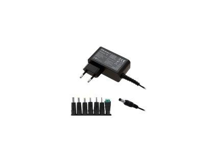 QOLTEC 51736 Qoltec univerzální napájecí adaptér 30W 7 plugins + napájecí kabel