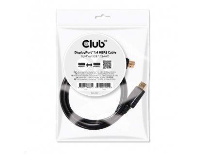 Club3D Kabel DisplayPort 1.4 HBR3 8K60Hz (M/M), 1m