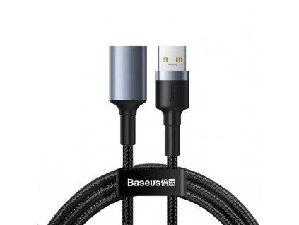 Baseus Cafule nabíjecí / datový kabel USB3.0 samec na USB3.0 samice 2A 1m, šedá