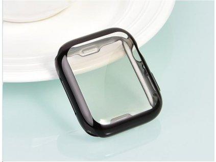 COTEetCI celoplošné ochranné termoplastové pouzdro pro Apple Watch 44 mm černé