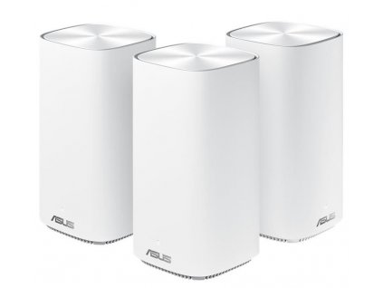 ASUS ZenWifi CD6 Wireless AC1500 Dual-band Whole-Home Mesh WiFi System, 3-pack