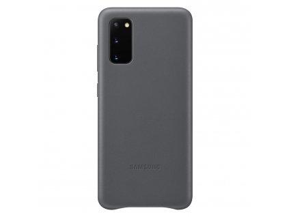 Samsung Kožený kryt pro S20 Gray