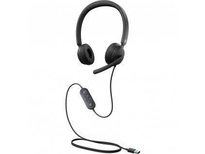 Microsoft Modern USB Headset For Business, Black