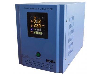 MHPower měnič napětí MP-1600-12, střídač, čistý sinus, 12V, 1600W