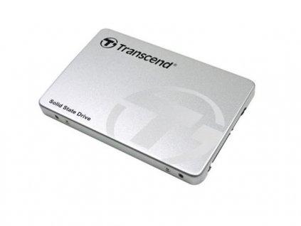 TRANSCEND SSD370S 32GB SSD disk 2.5'' SATA III 6Gb/s, MLC, Aluminum casing, 560MB/s R, 460MB/s W, stříbrný