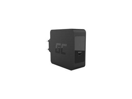 GREENCELL CHAR09 Nabíječka USB-C 60W PD s kabelem USB-C