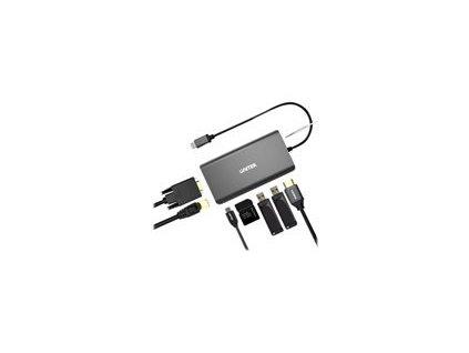 UNITEK D1019A Unitek D1019A uHUB O8+ 8v1 USB-C 3.1 with Power Delivery 100W