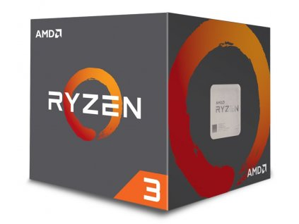 AMD Ryzen 3 1200 / Ryzen / LGA AM4 / max. 3,4 GHZ / 4C/4T / 10MB / 65W TDP / BOX with Wraith Stealth 65W