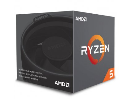 AMD Ryzen 5 2600 / Ryzen / LGA AM4 / 3,4 GHz / 6C/12T / 19MB / 65W / BOX