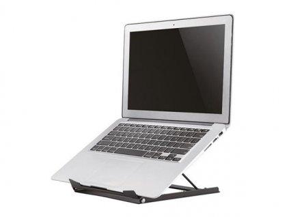 NewStar držák na notebook ergonomický, 5 poloh, černý