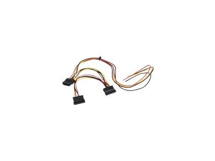 AKYGA Service cable for PC PSU AK-SC-24 Molex f / Sata f / Sata f 40 / 15 / 15 cm