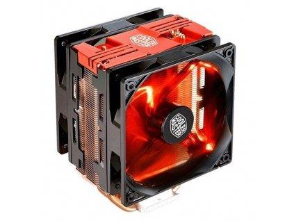chladič Cooler Master Hyper 212 LED Turbo, red