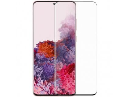 Nillkin Tvrzené Sklo 3D DS+ MAX Diamond Jade Black pro Samsung Galaxy S20 Ultra