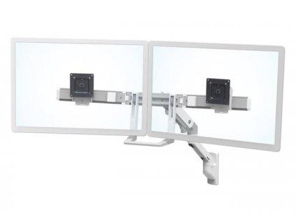 "ERGOTRON HX Wall Dual Monitor Arm, nástěnné rameno pro 2 monitory až 32"", bílé"