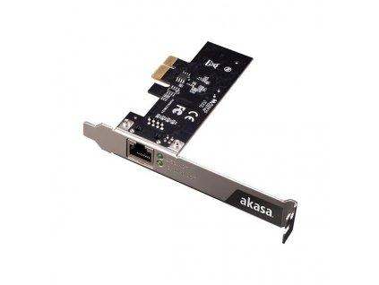 AKASA řadič do PCIe na 1x GLAN / AK-PCCE25-01 / 2,5Gbps /