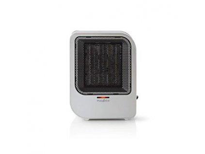 Nedis HTFA12CGY - Ventilátor s keramickým topným tělesem | 750 a 1500 W | Šedá barva