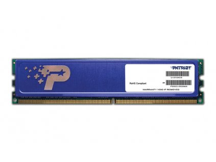 PATRIOT Signature 4GB DDR3SL 1600MHz / DIMM / CL11 / chladič / PC3-12800 / 8x512