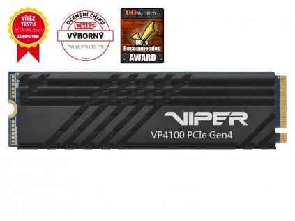 PATRIOT Viper Gaming VP4100 1TB SSD / Interní / M.2 PCIe Gen4 x 4 NVMe 1.3 / 2280