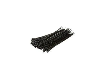 LOGILINK KAB0003B LOGILINK - Sada 100 ks pásků, délka 20 cm, black