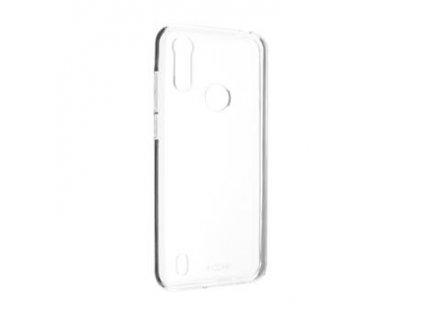 Pouzdro FIXED TPU gelové Motorola Moto E6s 2020, čiré
