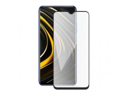 Screenshield XIAOMI Poco M3 (full COVER black) Tempered Glass Protection