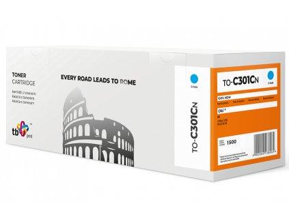 Toner TB kompatibilní s OKI C301 TO-C301CN CY