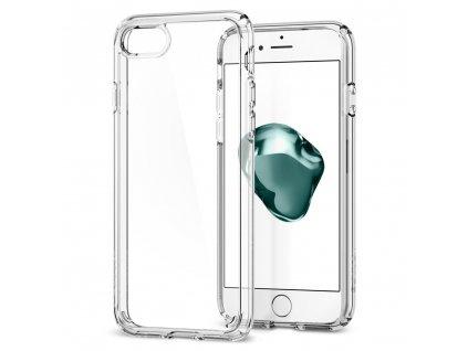 OCHRANNÝ KRYT (HARD+TPU) SPIGEN Ultra Hybrid 2 PRO APPLE iPHONE 7/8 - transparentní