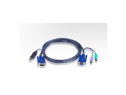ATEN integrovaný kabel 2L-5503UP pro KVM USB 3m pro CS9138