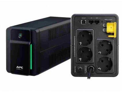 APC Back-UPS BXM 750VA (410W), AVR, USB, německé Schuko zásuvky
