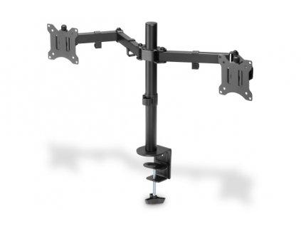 """Digitus držák na dva monitory 15-32 """", 2x 8 kg (max.), Černé"""