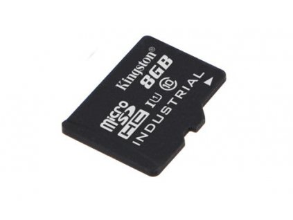 KINGSTON 8GB microSDHC Industrial C10 A1 pSLC Card Single Pack w/o Adapter
