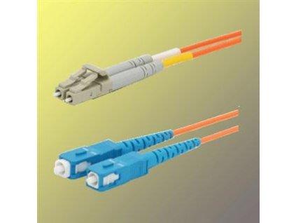 OPTIX LC/UPC-SC/UPC Optický patch cord 09/125 15m G657A