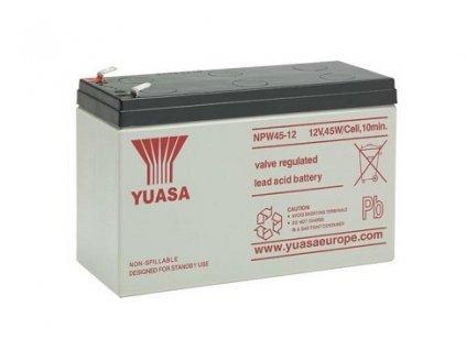 Baterie pro UPS - YUASA NPW45-12 (12V, 45W/čl./faston F2)