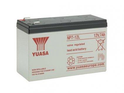Baterie pro UPS - YUASA NP7-12L (12V/7Ah/faston F2)